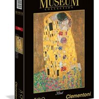 "Puslespill 500 Museum Klint ""The Kiss"" Clementoni"