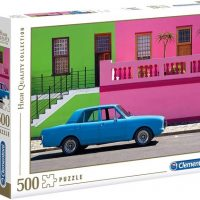 Puslespill 500 The Blue Car Clementoni