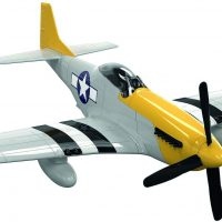 Quickbuild Modellfly, Grå/Gul
