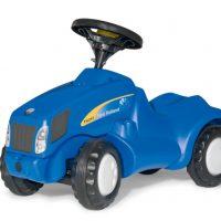 Rolly Toys Gåbil Minitrac NH6010 Blå