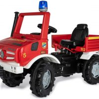 Rolly Toys Traktor Brannbil Unimog