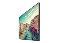Samsung QB85R - 85 Diagonalklasse QBR Series LED-bakgrunnsbelyst LCD-skjerm - digital signering - 4K UHD (2160p) 3840 x 2160