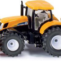 Siku Traktor Med Plog og Saltspreder 1:50