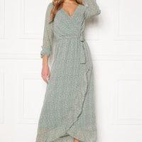 Sisters Point Gush Dress 300 L.Green/Leo L