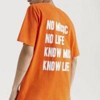Studio Total T-Shirt Neon Tee Orange