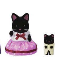Sylvanian Families 5530 Midnight Cat Family