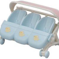 Sylvanian Families 5533 Triplets Stroller
