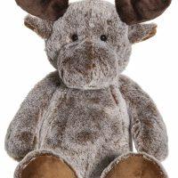 Teddykompaniet Kosedyr Elg, Brun
