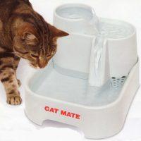 Tre-etasjes vannfontene - Automatisk vannskål til katt