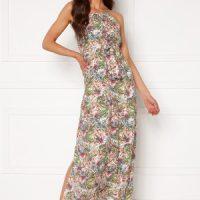 VERO MODA Simply Easy Slit Maxi Dress Snow White XL