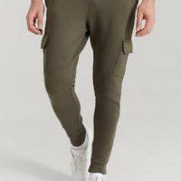 William Baxter Joggers Skinny Cargo Sweatpants Grønn