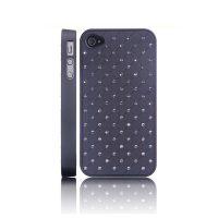 101 Stars (Sort) iPhone 4/4S Deksel