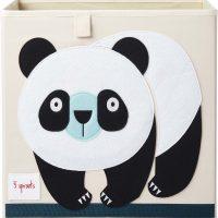 3 Sprouts Oppbevaringsboks, Panda