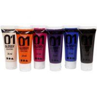 A-color Akrylmaling Kompletterende Farger