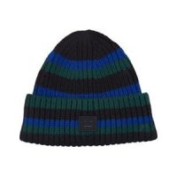 Acne Studios Knitted Wool Lue Black/Blue Stripe 6-8 år