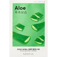 Airy Fit Sheet Mask (Aloe), 19 g MISSHA Steg 7: Sheet Mask