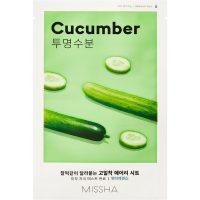 Airy Fit Sheet Mask (Cucumber), 19 g MISSHA Steg 7: Sheet Mask