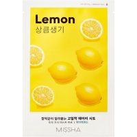 Airy Fit Sheet Mask (Lemon), 19 g MISSHA Steg 7: Sheet Mask