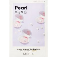 Airy Fit Sheet Mask (Pearl), 19 g MISSHA Steg 7: Sheet Mask
