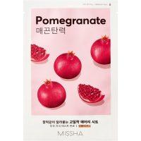 Airy Fit Sheet Mask (Pomegranate), 19 g MISSHA Steg 7: Sheet Mask
