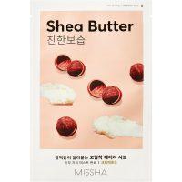 Airy Fit Sheet Mask (Shea Butter), 19 g MISSHA Steg 7: Sheet Mask
