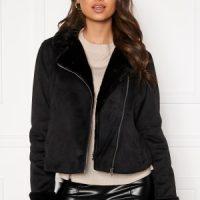 BUBBLEROOM Julia biker jacket Black 34