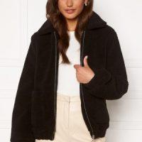 BUBBLEROOM Tove teddy jacket Black 38