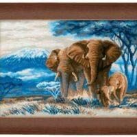 Bilde Elefanter på savannen