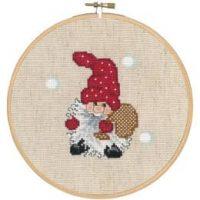 Bilde Julenisse med sekk