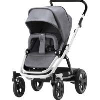 Britax GO BIG² Stroller Grey Melange/White Chassis Go Big White Chassi Grey