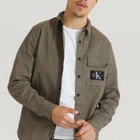 Calvin Klein Jeans Overshirt GMD Shirth Brun