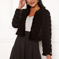 Chiara Forthi Diva party faux fur Black 42