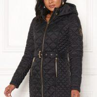 Chiara Forthi Sarraceno Quilted Jacket Black 38