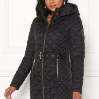 Chiara Forthi Sarraceno Quilted Jacket Black 42