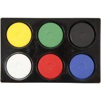 Colortime Vannmaling, Primærfarger