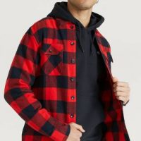 Dickies Overshirt New Sacramento Shirt Rød