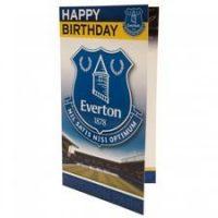 Everton Bursdagskort - Blå