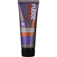 Fudge Clean Blonde Damage Rewind Violet-Toning Shampoo, 50 ml Fudge Sølvshampoo