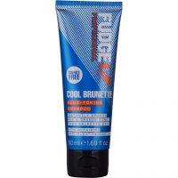Fudge Cool Brunette Blue Toning Shampoo, 50 ml Fudge Sølvshampoo