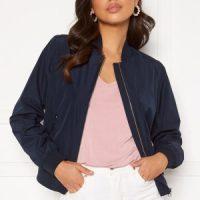 GANT Zip Up Blouson Jacket Evening Blue XS