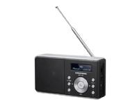 Grundig Music 6000 DAB+ - Bærbar DAB-radio - 2 watt - hvit