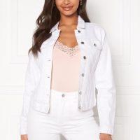 Happy Holly Skyler denim jacket White 38