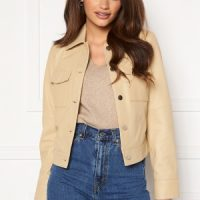 JOFAMA Lynn Leather Jacket Sand 40