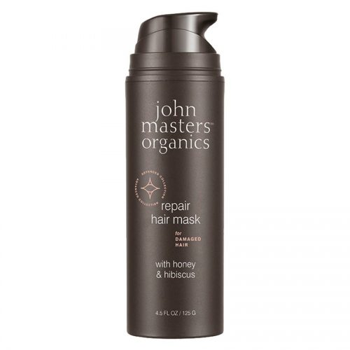 John Masters Organics Repair Hair Mask For Damaged Hair With Honey & Hibiscus 125g