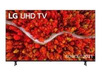 LG 55UP80003LA - 55 Diagonalklasse LED-bakgrunnsbelyst LCD TV - Smart TV - webOS, ThinQ AI - 4K UHD (2160p) 3840 x 2160 - HDR - Direct LED