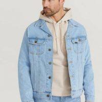 Lee Jeansjakke Lee Rider Jacket Blå