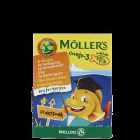 Möllers Omega-3 Fisk Frukt, 45 tabletter