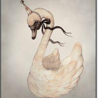 Mrs Mighetto Plakat Dear Swan 40x50