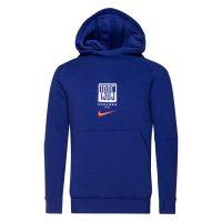 Nike Chelsea Fleece Hettegenser - Blå/Rød Barn