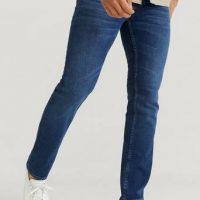 Nudie Jeans Jeans Grim Tim Indigo Myth Blå